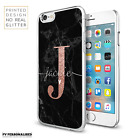 INITIALS PHONE CASE PERSONALISED MARBLE HARD COVER FOR APPLE IPHONE 7 8 X XS MAX