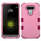 For LG G5 Tuff Hybrid Rugged Shockproof Protective Hard Case Cover Stand