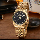 CHENXI Men's Luxury Gold Stainless Steel Quartz Wrist Watch Business Watches image