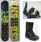 NEW CSB SNOWBOARD, BINDINGS, BOOTS PACKAGE - 149cm