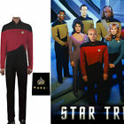 Cosplay Star Trek TNG Jumpsuit Uniform The Next Generation Red Costume Pin Set on eBay
