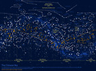 CONSTELLATION MAP CHINESE SKY GLOSSY POSTER PICTURE PHOTO ASTRONOMY STARS SPACE