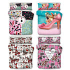3D High Heeled Shoes Cosmetic Lipstick Bedding Set Duvet Cover Pillowcase image