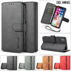 Genuine Leather Flip Wallet Case Cover Card Slots For Iphone X Xs Max 6 7 8 Plus