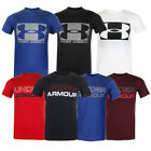 Under Armour Men's Short Sleeve Graphic Logo Athletic T-Shirt image
