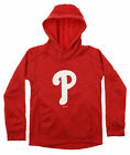 Gen 2 MLB Youth Philadelphia Phillies Performance Fleece Primary Logo Hoodie on Ebay