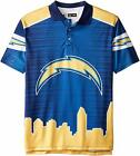 Forever Collectibles NFL Men's San Diego Chargers Thematic Polo Shirt $39.99 USD on eBay