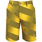 Forever Collectibles MLB Men's Pittsburgh Pirates Diagonal Stripe Walking Shorts