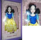 "Disney Store Princess SNOW WHITE + PRINCE 11"" DOLL / Parks 9"" 1990 DOLL Rare NEW"
