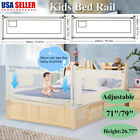 Kyпить Baby Guard Bed Rail Toddler Safety Adjustable Kids Infant Bed Universal 71