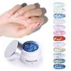 Harunouta 5g Glitter Gel Polish Colorful Sequins Soak Off Nail Art Gel Varnish