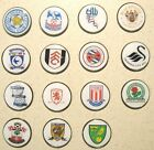 GOLF BALL MARKERS - , SOUTHAMPTON, LEICESTER, SHEFFIELD WEDS, ARSENAL,