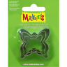 Makins Clay & Cookie Cutters - BUTTERFLY shape (Set of 3) cake Fondan