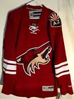 Reebok Premier NHL Jersey Arizona Coyotes Team Burgundy sz M $9.99 USD on eBay