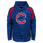 Chicago Cubs Youth Boys Clubhouse Pullover Hooded Sweatshirt - Blue on Ebay