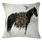 Horse Sofa Car Pillow Case Cotton Linen Fashion Throw Cushion Cover Home Decor