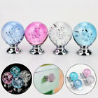 Creative Bubble Crystal Ball Glass Pull Handle Cabinet Drawer Door Knob