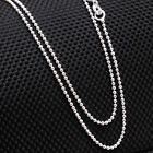"""Unisex Link necklace 925 Sterling Silver jewelry Twister silver chain 18, 20,22"""""""