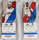 2015-16 Los Angeles Clippers NBA Game Ticket Stub Pick one Choose one on eBay