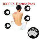 100pcs Tens Electrode Pads Stimulator Relax Acupuncture Therapy for Health Care