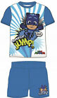 BOYS PJ MASKS PYJAMAS SHORT PJS COTTON CATBOY