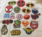 Iron on patches Marvel, DC, Star Wars & TV characters choose from 23 designs on eBay