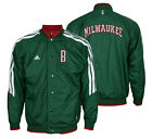 Adidas NBA Basketball Boys Youth Milwaukee Bucks On Court Reversible Jacket on eBay