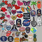 Внешний вид - DIY Badge Patch Embroidered Sew Iron On Patches Badge Bag Fabric Applique Craft
