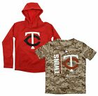 Majestic MLB Youth Minnesota Twins Primary Icon Hoodie and Tee Combo on Ebay