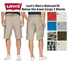 Levis Men's Relaxed fit Below the knee Cargo I Shorts <br/> QUICK & FREE SHIPPING and FREE RETURNS, 100% AUTHENTIC.