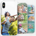 PERSONALISED PHONE CASE CUSTOM PHOTO HARD COVER FOR APPLE SAMSUNG SONY HUAWEI