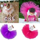 Baby Girl Birthday Outfits Dresses for 1st First Birthday Party Romper Headband