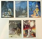 2013 Star Wars Illustrated One Sheet Reimagined Cards Insert You Pick MP $1.79 USD on eBay