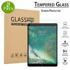 2 Pack TEMPERED GLASS Screen Protector for iPad 9.7 Pro 5th 6th Air Air 2nd Gen