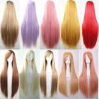 Women Long Straight Hair Full Wigs Party Costume Lady Cosplay Halloween Wig Gift