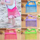 Mesh Beach Bag Kids Pack Tote Portable Carrying Toy Ball Storage Pouch Uk Rr