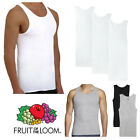 Fruit Of The Loom Men's 3 Pack Tag-Free Cotton Athletic...