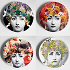 Colorful Vintage Fornasetti Plates Illustration Wall Hanging Home Decoration