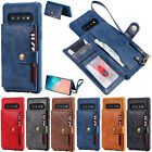 Leather Wallet Case Card Slot Shockproof Flip Cover For Iphone X Xr Xs Max 7 8 6