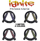 SPEED SKIPPING JUMP ROPES FITNESS CARDIO AEROBIC GYM BOXING CROSSFIT SPORTS MMA image