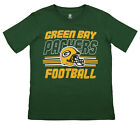 Outerstuff NFL Youth Green Bay Packers Team Color Short Sleeve Tee $9.99 USD on eBay
