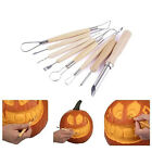 6/22Pcs Clay Sculpting Wax Carving Pottery Tools Polymer Ceramic Modeling cby image