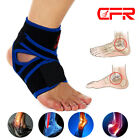ANKLE BRACE SUPPORT Adjustable Compression Sports Stabilizer Elastic Foot Wraps $7.59 USD on eBay