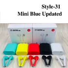 Wireless Bluetooth Earbuds Earphones Headphones for Apple Airpods iPhone Android