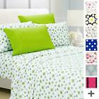 American Home Collection Deluxe 6 Piece Printed Sheet Set Highest Quality Of Bru image