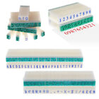 3 Types English Alphabet Letters Numbers Stamp Free Combination Rubber DIY Craft