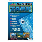 All-Purpose Waterproof All Weather Protective Polyethylene Blue Tarp