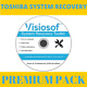 Toshiba System Recovery Boot Repair Restore CD DVD factory reset resource pack