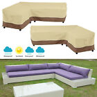 Outdoor Garden Patio Furniture Cover Protector L-shape Sofa Cover Waterproof Us