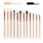 12pcs Professional Eye Brush Make Up Brushes Set Eyeshadow Eyebrow Blending Tool